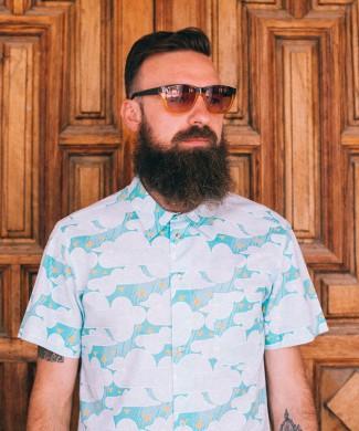 Camisa exclusiva - Festive shirt Nubes