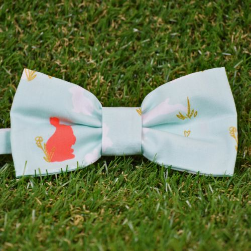 Pajarita estampada Rabbit