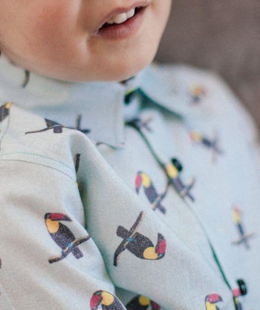 Camisa de niño Tucanes