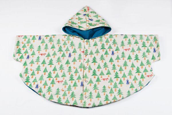 Capa abrigo Caperucita Azul